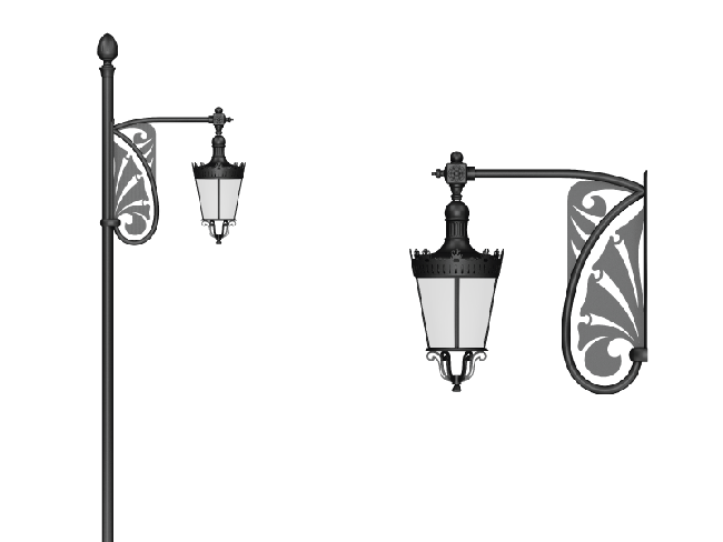 Heliodor - Wall Sconce Arm Models