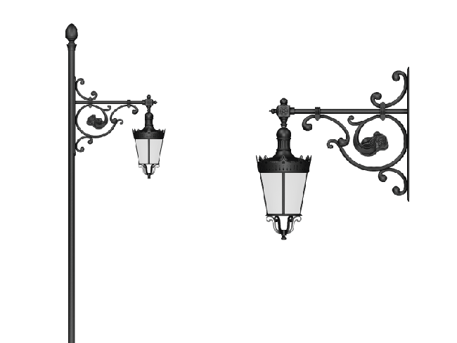 Ruby - Wall Sconce Arm Models