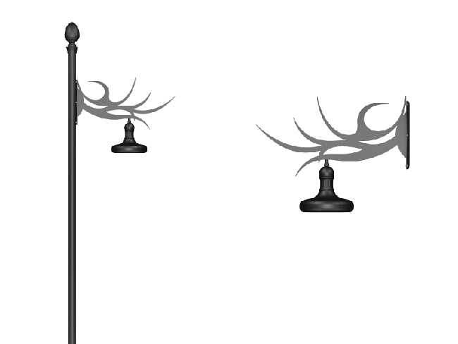 Sodalite - Wall Sconce Arm Models